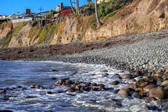 Float on... (Crystal_rivera) Tags: beach rocks sandiego shore