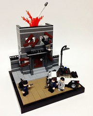 Bat-Infestation (Tim Lydy) Tags: 1 lego bat part gordon batman series animated twoface infestation