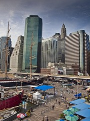 Ships and skyscrapers in NYC (Andrea Rapisarda) Tags: nyc people urban usa newyork port buildings pier cityscape skyscrapers ships ngc porto wallstreet navi oly imbarcazioni ©allrightsreserved nationalgeographicgroup olympuse620