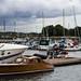 Sleek Wooden Boat