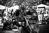 Elbow Meets Helmet (Vicky.O.) Tags: irish ontario canada festival canon scottish battle medieval sword knight celtic innisfil fighting armour swordplay canon60d canon70200mmisii innisfilcelticfestival