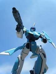 Excalibur (nuo2x2) Tags: plane toy robot action figure yamato gnu mecha droid excalibur macross dou macrossplus batroid nuo2x2
