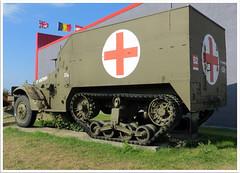 M16 Half track (Aerofossile2012) Tags: museum wwii musée ambulance weapon ww2 62 m16 halftrack pasdecalais ambleteuse arme 3945