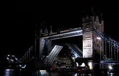 That Very Moment (Serge Freeman) Tags: uk bridge london tower thames night towerbridge river famous sightseeing landmark sight