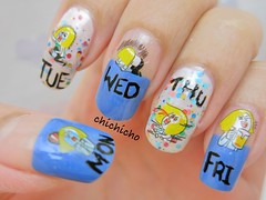 Line texting sticker mood cycle nail art (thechichicho) Tags: brown moon art water tattoo james sticker nail line nails chi decal pick transfer nailart naver cony temperary uploaded:by=flickrmobile flickriosapp:filter=nofilter thechichicho chichicho