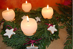 7 (bettikell) Tags: autumn winter inspiration fall diy holidays candles advent handmade adventwreath decor mosswreath