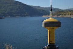 Surveying (Nick Tsenteme) Tags: treasure dam greece land gps drama survey positioning global topography topcon