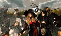 Halloween (Kagemaru McMahon) Tags: halloween cosplay cipher aisling niju silveryk deathrowdesigns remarkableoblivion