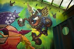REKS (FSC) Character Design | TIWS SOTEN REKS | Drippin' Drips in Boblehallen, Carlsberg 2013 (fonzi74/gbCrates) Tags: street city urban streetart art wall by copenhagen grit denmark graffiti paint raw alt kunst tag graf tags gritty can spray burning burnin gb walls rough graff cph aerosol burner revolutionary danmark ruff christensen emil alternative carlsberg crates burners chr spraycan fsc frederik grimey reks grimy tagz tda alternativ soten 2013 vgge vg tiws revolutionr hyer fonzi74 gbcrates hyerchr sprjtemaling boblehallen
