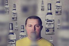 A Tequila A Day??? (JLC Photography Spokane,WA) Tags: selfportrait man male men guy canon 50mm washington crazy spokane bokeh creative tequila liquor alcohol mind photoaday 365 conceptual f18 yellowshirt atequilaaday artisticabstractsurrealmargaritatequila