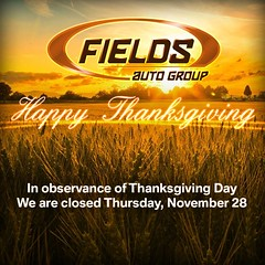Happy Thanksgiving, everyone! We will re-open tomorrow for normal business hours. In the meantime, enjoy your holiday feasts! http://ow.ly/i/3Recj #Thanksgiving #FieldsAuto #Thursday #closed #feast #holiday (fieldsbmw) Tags: auto thanksgiving new november usa holiday news cars love car feast happy for orlando closed flickr florida awesome united group automotive we business your will quotes enjoy bmw fields hours everyone normal 28 states tomorrow thursday feasts in meantime reopen 2013 0905am ifttt wwwfieldsbmworlandocom httpwwwfacebookcompagesp106080914268 fieldsauto httpowlyi3recj httpswwwfacebookcomphotophpfbid10152035208294269seta140463239268108477106080914268type1 httpsscontentaxxfbcdnnethphotosash35806221015203520829426962372122njpg