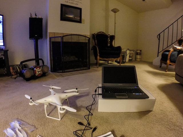 flight phantom gopro hero3 quadcopter