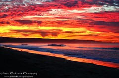 Sky Art (Wedger132) Tags: ocean california sky seascape beach nature water colors beautiful sunrise landscape lights nikon waves magic orangecounty oceanscape nepwort justindelandphotography