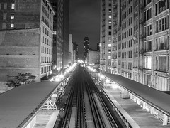 "Loop Tracks East Side at Night • <a style=""font-size:0.8em;"" href=""http://www.flickr.com/photos/59137086@N08/11428673463/"" target=""_blank"">View on Flickr</a>"