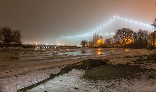 """Ship, Bridge and Fog • <a style=""""font-size:0.8em;"""" href=""""http://www.flickr.com/photos/76866446@N07/11487286895/"""" target=""""_blank"""">View on Flickr</a>"""