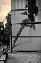 Leggs (CorH) Tags: street city portrait people urban blackandwhite bw white black monochrome blackwhite belgium belgie candid streetphotography antwerp antwerpen straatfotografie explored corh
