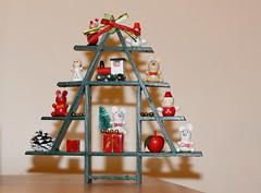 Farewell Christmas [2013] (dreamingawake) Tags: santa christmas tree cute vintage fun toy happy 50mm wooden decoration newyear whimsical 700d