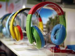 headphones (.michael.newman.) Tags: colorful headphones ces2014