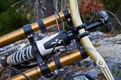 Gold Bars (project-b) Tags: mountain bike bar demo downhill fox danny blackbox hart handlebar 40 carbon specialized truvativ