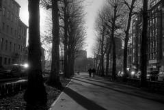 Quai du Commerce (Spotmatix) Tags: camera brussels urban film monochrome landscape effects belgium places olympus polypanf zonefocus iso050