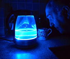 297-365 (Year 7) K is for Kettle ( Georgie R) Tags: blue light kettle mug