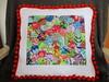 Amy Butler Hexi Pillow (julielou41) Tags: epp hexis amybutler handstitching pillow