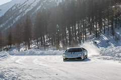 Huracan LP610-4 (Nico K. Photography) Tags: lamborghini huracán lp6104 white snow drifting supercars italy nicokphotography livigno