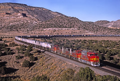 When GP60Ms ruled the Transcon (steve55126) Tags: laguna newmexico