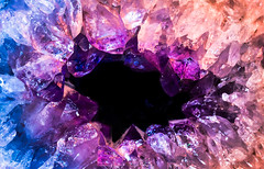 The Amethyst. © ® (The Sergeant AGS (A city guy)) Tags: amethyst colors experiment macro