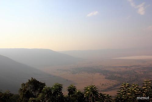 Vista de la caldera del Ngoro-Ngoro - Tanzania - The Ngoro-Ngoro Caldera Sight