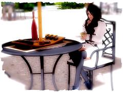Tea Time (Petals_Jinx) Tags: catwa wowskins maitreya vistabentoprohands vistaanimations rumina lassitudeennui monalisa javafashiondesign mayasbuildingsfurniture applefalls cd