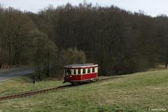 Harzer Schmalspurbahnen 187 001 kurz vor dem Haltepunkt Sternhaus-Haferfeld, 31.03.2017 by Tramfan2011 -