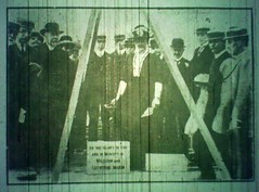 """""""Laying One of the Foundation Stones"""", Wigan Observer & District Advertiser, 13 July 1912 (The Makerfield Rambler) Tags: billinge methodist"""