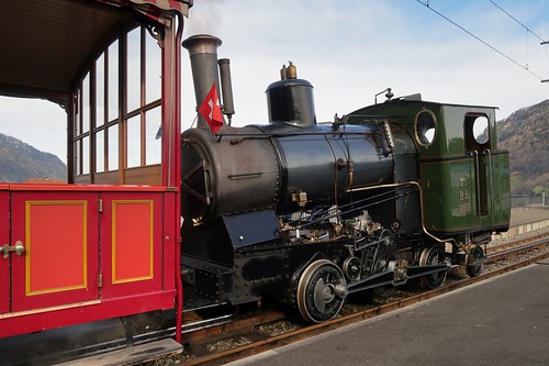 Rigi Bahnen - Steam Engine No. 16