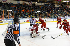 "Missouri Mavericks vs. Allen Americans, March 3, 2017, Silverstein Eye Centers Arena, Independence, Missouri.  Photo: John Howe / Howe Creative Photography • <a style=""font-size:0.8em;"" href=""http://www.flickr.com/photos/134016632@N02/33117918292/"" target=""_blank"">View on Flickr</a>"