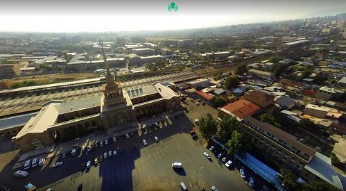 Yerevan Central Train & Bus station