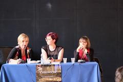 Daniela Piazza, Giulia Ciarapica e Valeria Montaldi (Sugarpulp) Tags: festivalromanzostorico chronicae piovedisacco sugarpulp libri letteratura storia