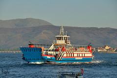 A Guarda (***REGFA***) Tags: barco santaritadecassia navo ferry aguarda caminha guarda rio minho miño desembocadura foz