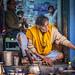The Blue Lassi Shop, Varanasi