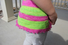 Zoe, 2 years 36 weeks old 10 (peridragon) Tags: zoe toddler knitting testknit neonpinnet spacecadet ravelry