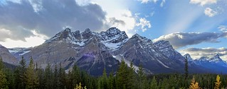 Icefields Parkway Scenery - Panorama - Banff National Park, Alberta, CA [explored]
