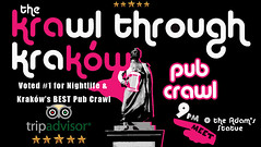What's life like as a professional drunk guide? Find out here: https://t.co/3SZ2ghNiym……………………………………………………………………… https://t.co/YDR2eALLfA (Krawl Through Krakow) Tags: krakow nightlife pub crawl bar drinking tour backpacking