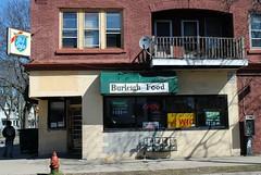 Burleigh Foods, Milwaukee (Cragin Spring) Tags: midwest unitedstates usa unitedstatesofamerica milwaukee milwaukeewi milwaukeewisconsin wisconsin wi oldstyle oldstylebeer sign store grocery burleighfoods urban city