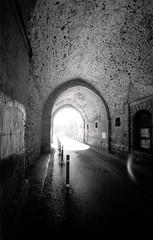 Jerusalem. Old City. (Valentine Kleyner) Tags: jerusalem israel voigtlander leica heliar bw film street city rollei