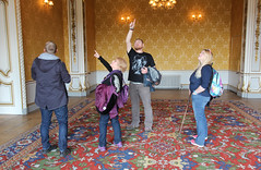 Family in Wrest Park House (ec1jack) Tags: stgeorgesday wrestpark englishheritage bedfordshire england britain uk europe tradition spring april ec1jack kierankelly canoneos600d rural countryside 2017 silsoe countrypark mk454hr festival heritage house home stately