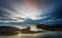 Godrevy LE (T_J_P) Tags: cornwall coast godrevy lighthouse longexposure hitech firecrest6stop sea clouds sunset