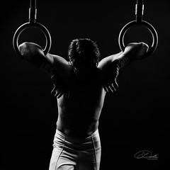 K67A1232 (johann dudla) Tags: rings man blackandwhite athlete plauen vogtland sportler schwarzweis innenaufnahme