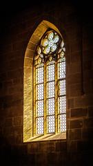 A light in the dark (konoli18) Tags: light sun church religion licht sonne kirche spirit bright strahlen hope hoffnung yellow glas old alt art kunst sunny sonnig mystical