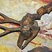 Merycodus warreni (ancient pronghorn antelope) (Valentine Formation, Miocene; quarry next to the Niobrara River, Cherry County, Nebraska, USA) 2