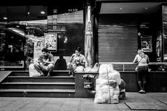 Street Moment | Bangkok 2016 (Johnragai-Moment Catcher) Tags: people photography bangkokstreet bw johnragai streetphotography